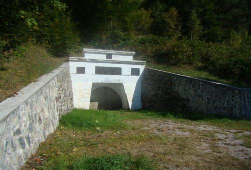 Rudňany – pôvodný pohľad na portál štôlne Krížová -po