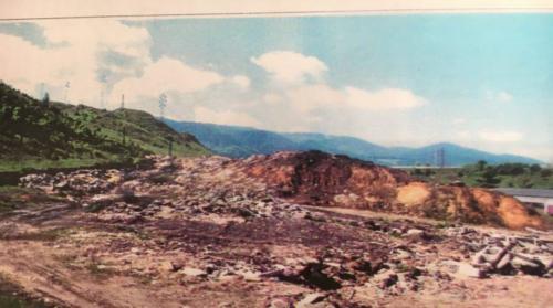 Skládka nebezpečného odpadu Vajsková – pred