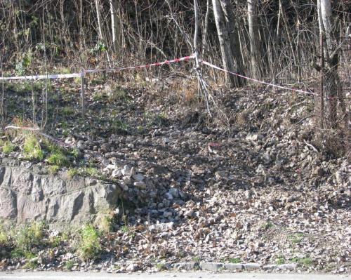 Lokalita Kremnica: Zabezpečenie prepadliska – Jama Michal - po